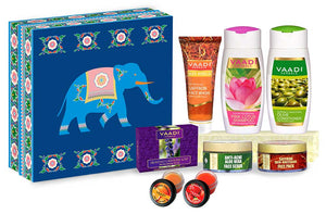 Royal Elegance Herbal Gift Set (Blue Elephant) (495 gms)