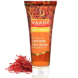 Skin Whitening Saffron Face Wash With Sandal Extract (60 ml)