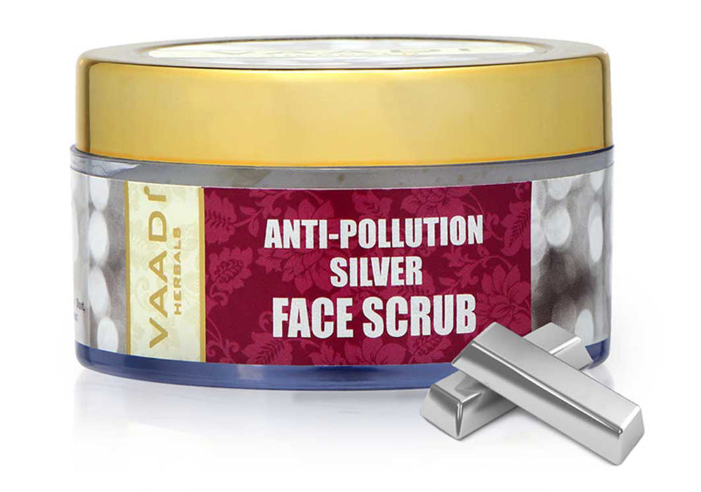 Silver Face Scrub - Pure Silver dust & Fenugreek (50 gms)