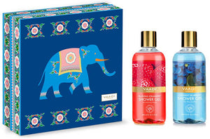 Very Berry Shower Gels Gift Box -Blushing Strawberry 300 ml & Midnight Blueberry 300 ml (Royal Elephant) ( 300 ml x 2 )