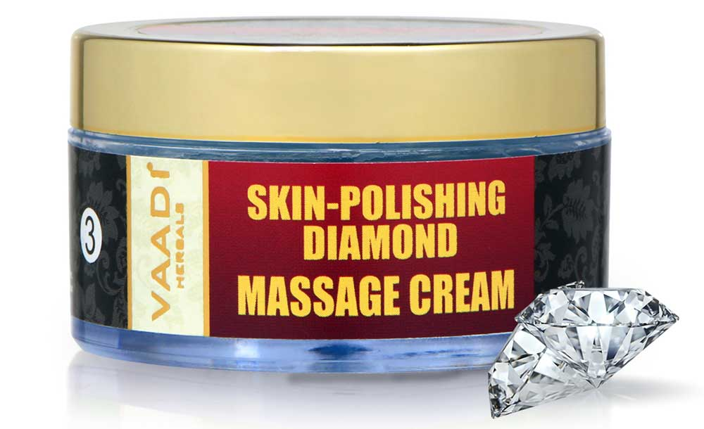 Skin-Polishing Diamond Massage Cream (50 gms)
