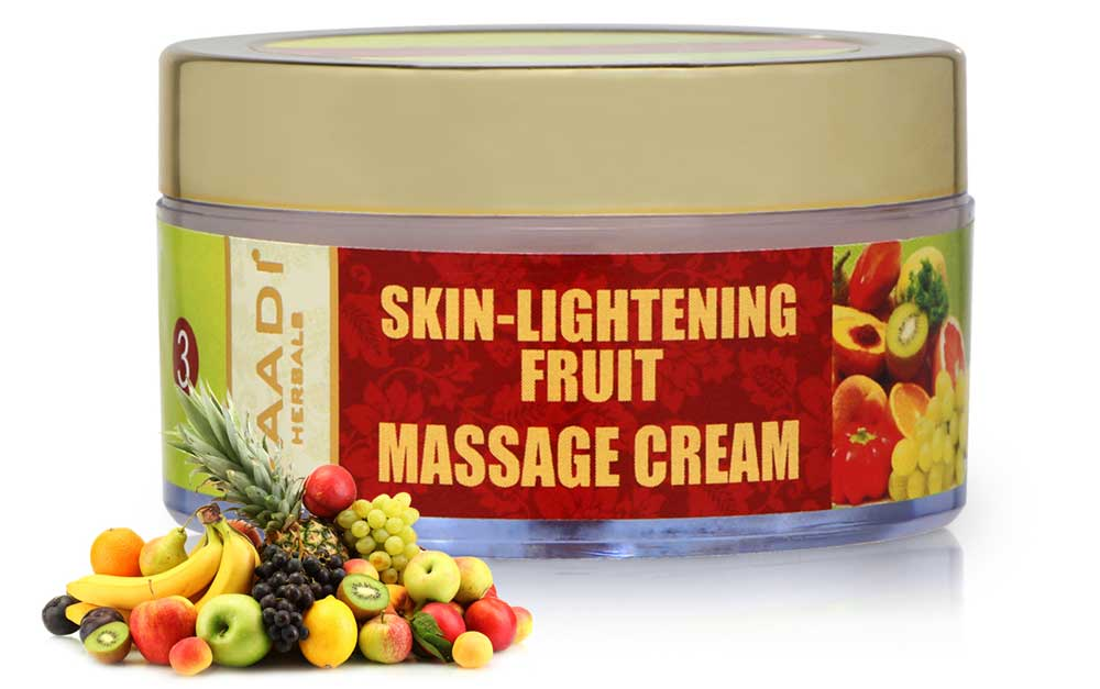 Skin-Lightening Fruit Massage Cream (50 gms)