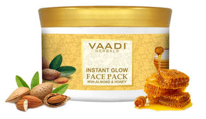 Instant Glow Face Pack With Almond And Honey (600 gms)