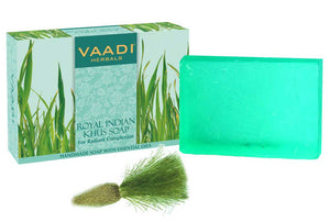 ROYAL INDIAN KHUS SOAP WITH Olive & Soyabean oil (75 gms)