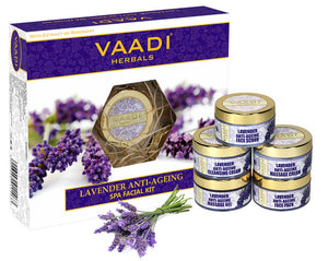 Lavender Anti-Ageing SPA Facial Kit with Rosemary Extract (270 gms)
