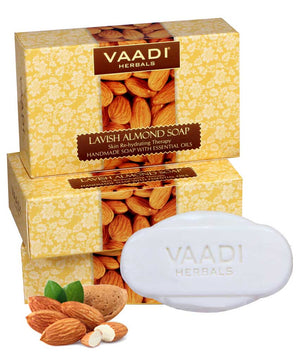 Pack of 3 Lavish Almond Soap (75 gms x 3)