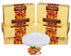 Pack of 6 Lavish Almond Soap (75 gms x 6)