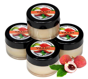 Pack of 4 Lip Balm - Lychee (10 gms x 4)