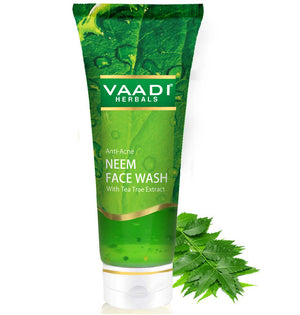 Anti-Acne Neem Face Wash With Tea Tree Extract (60 ml)