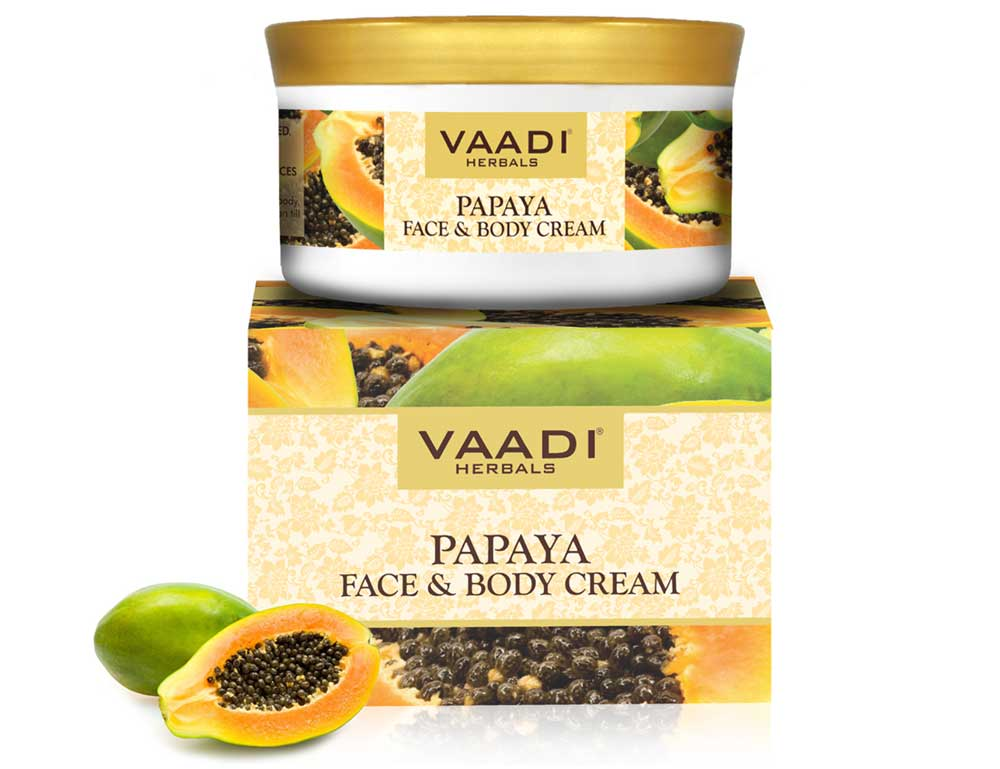 Papaya Face & Body Cream (150 gms)