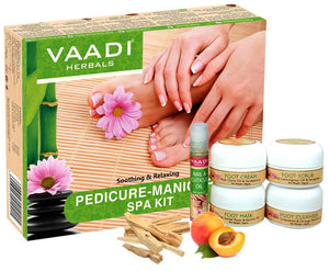 Pedicure Manicure Spa Kit - Soothing & Refreshing (135 gms)