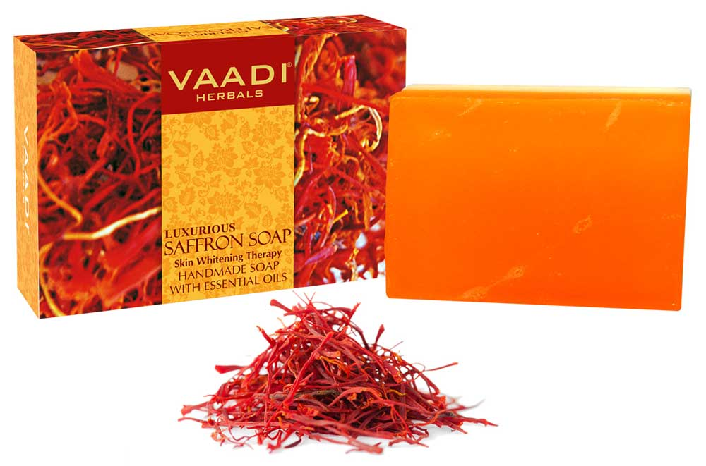 Luxurious Saffron Soap - Skin Whitening Therapy (75 gms)