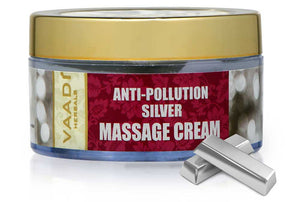 Silver Massage Cream - Pure Silver dust & Rosemary Oil (50 gms)
