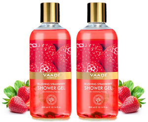 Pack of 2  Blushing Strawberry Shower Gel (300 ml x 2)