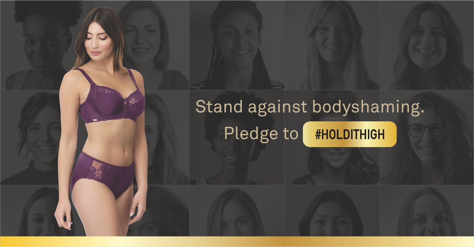 Stand Against Bodyshaming #HoldItHigh