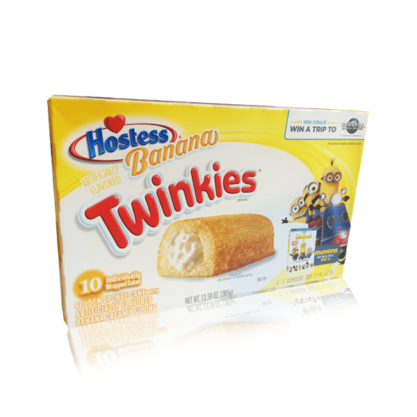 HOSTESS TWINKIE BANANA SINGLE