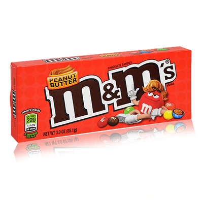 M&M'S PEANUT BUTTER THEATRE BOX 85.1G