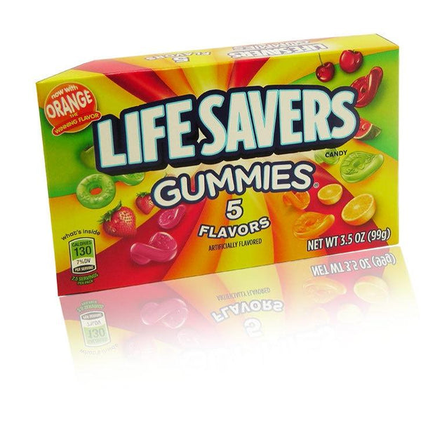 LIFESAVERS GUMMIES 5 FLAVOURS THEATRE BOX