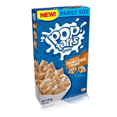 POPTARTS BROWN SUGAR CINNAMON CEREAL 482g
