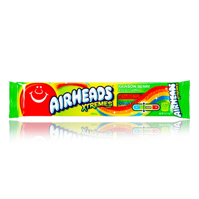 AIRHEADS XTREMES RAINBOW BERRY SOUR BELT