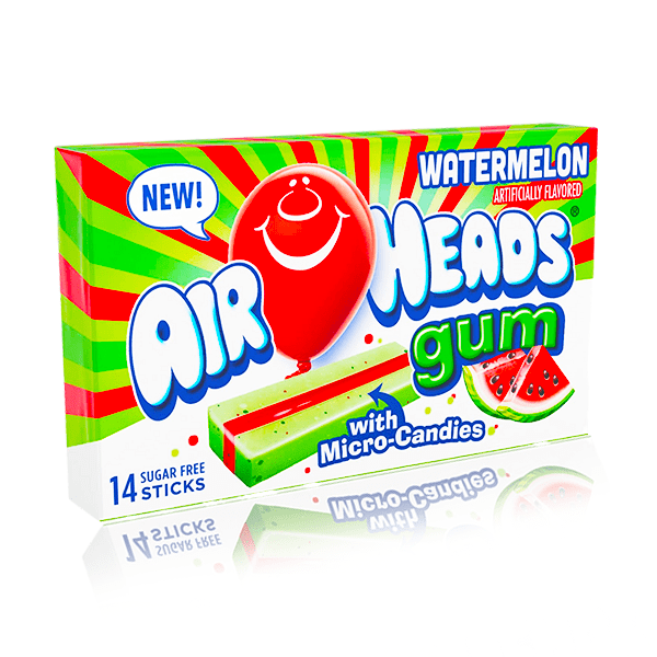 AIRHEADS GUM WATERMELON 14 STICKS