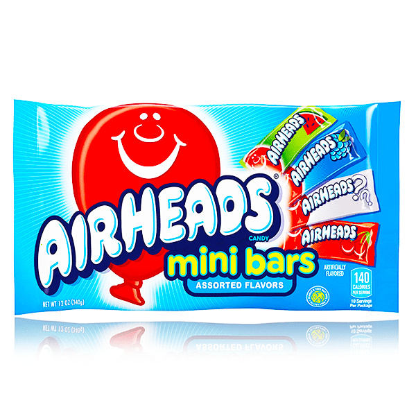 AIRHEADS MINI BARS LARGE BAG 340G