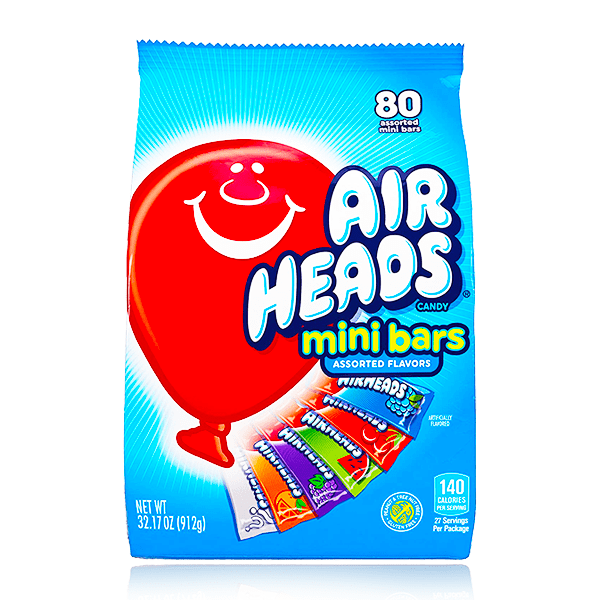 AIRHEADS MINI BARS XL BAG 912G
