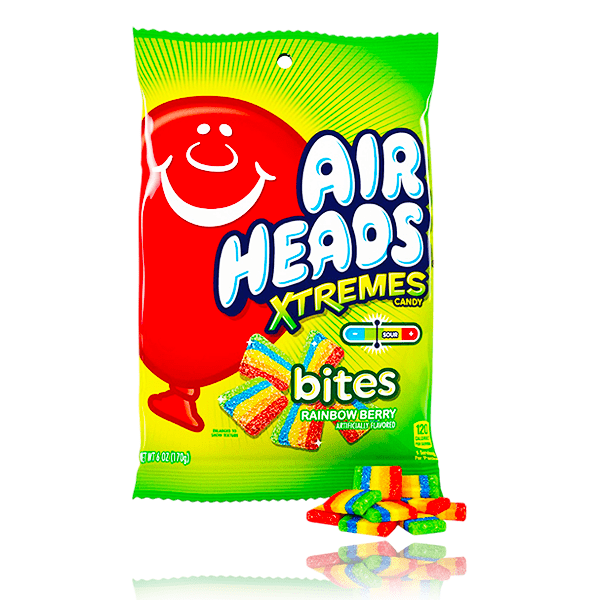 AIRHEADS XTREMES RAINBOW BERRY BITES 170g