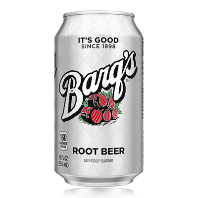 BARQ'S ROOT BEER CAN