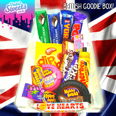 NEW BRITISH EDITION GOODIE BOX