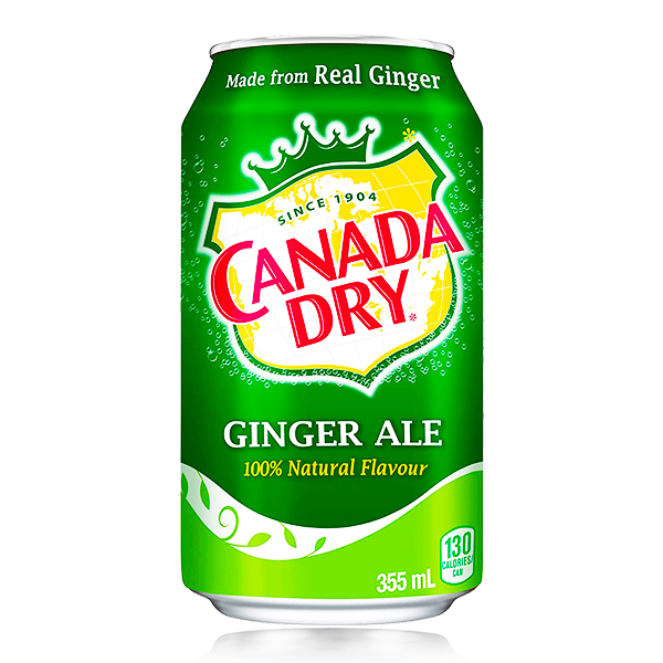 CANADIAN DRY GINGER ALE CAN