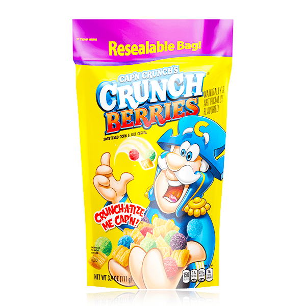 CAP'N CRUNCH'S CRUNCH BERRIES POUCH 111g