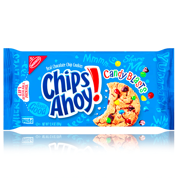 CHIPS AHOY CANDY BLASTS 351g