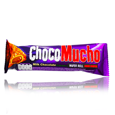 CHOCO MUCHO MILK CHOCOLATE CARAMEL BAR 25g