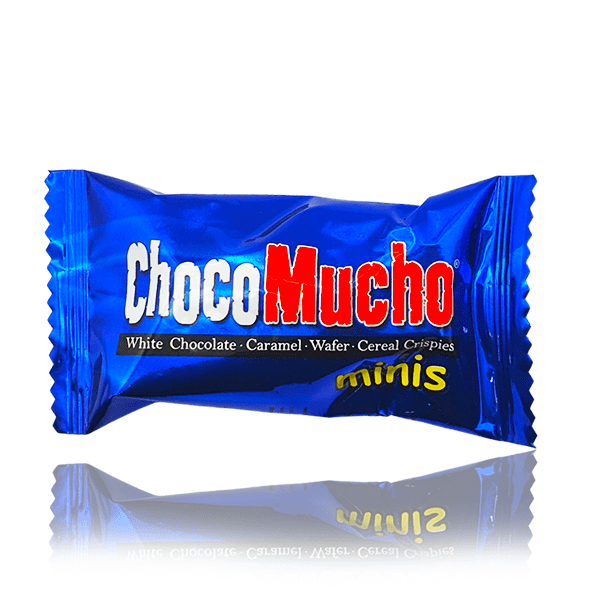 CHOCO MUCHO WHITE CHOCOLATE MINI 8g