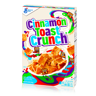 CINNAMON TOAST CRUNCH CEREAL 340g