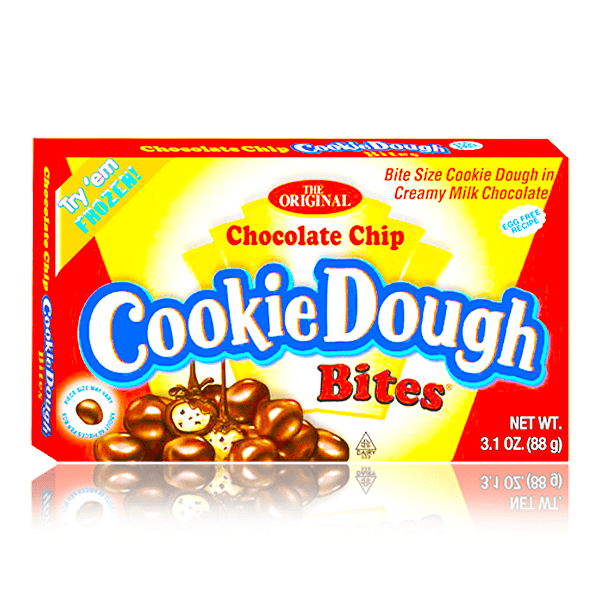 COOKIE DOUGH BITES CHOCOLATE CHIP THEATRE BOX 88G