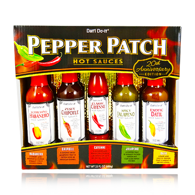 DAT'L DO IT PEPPER PATCH HOT SAUCES 680G