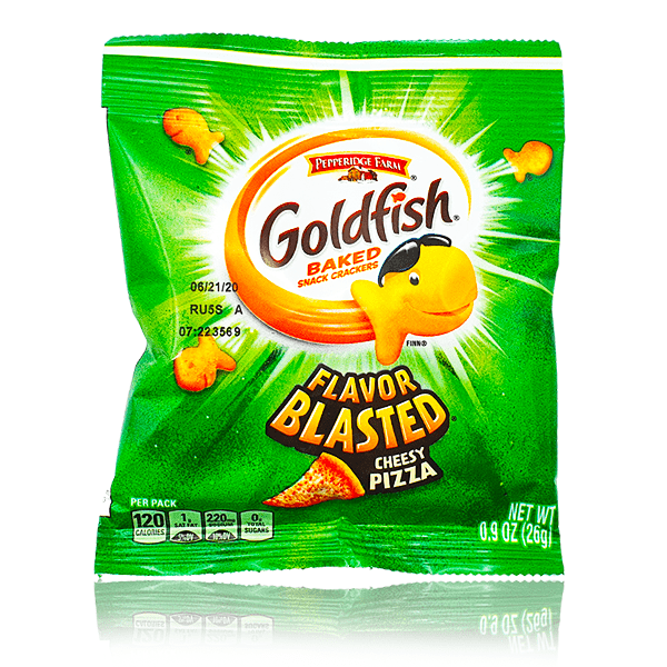 GOLDFISH FLAVOR BLASTED CHEESY PIZZA 26G