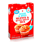 GREAT VALUE BAKING MIXES ASSORTED BOXES