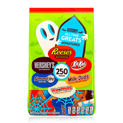 HERSHEY'S ALL TIME GREATS CANDY ASSORTMENT 250 PIECES 2.3KG