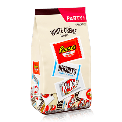 HERSHEY'S WHITE CREME CHOCOLATE ASSORTMENT CANDY BAG XXL 924G