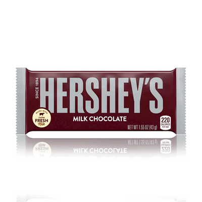 HERSHEY'S PLAIN MILK CHOCOLATE 43g