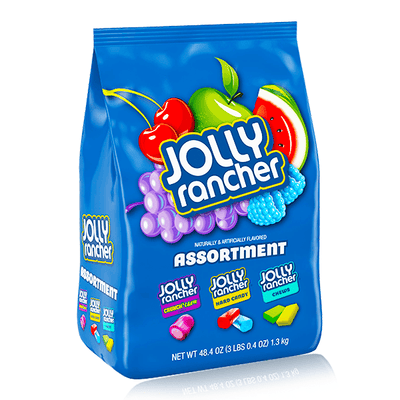 JOLLY RANCHER HARD CANDY ASSORTED FLAVOURS 1.3KG