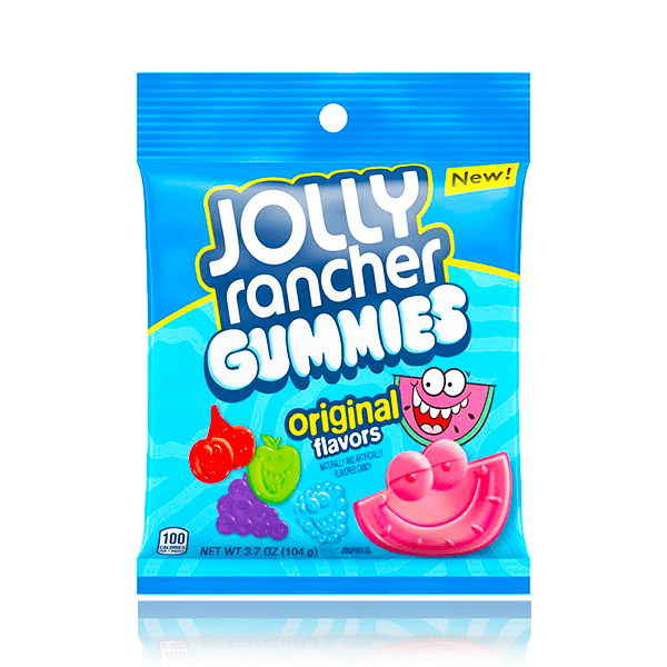 JOLLY RANCHER GUMMIES PEG BAG