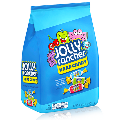 JOLLY RANCHER HARD CANDY ASSORTED FLAVOURS XXL 1.7KG
