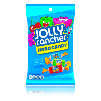 JOLLY RANCHER HARD CANDY PEG BAG 107g