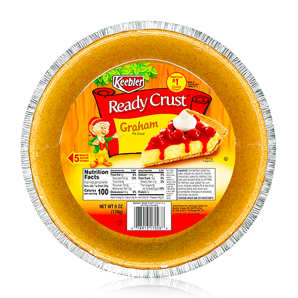 KEEBLER READY CRUSTS ASSORTED FLAVOURS