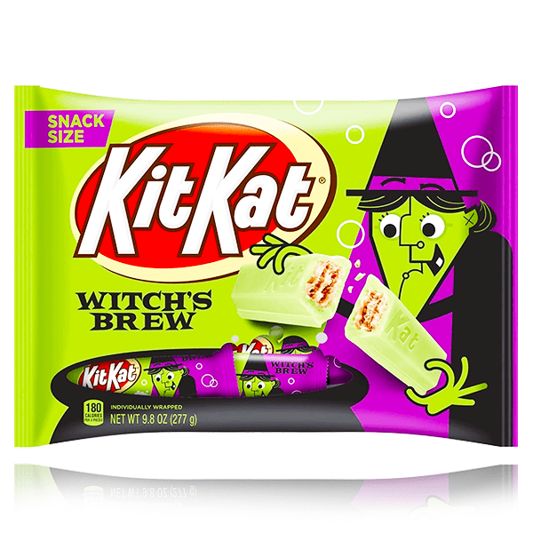 KIT KAT WITCH'S BREW SNACK SIZE LARGE BAG 277G