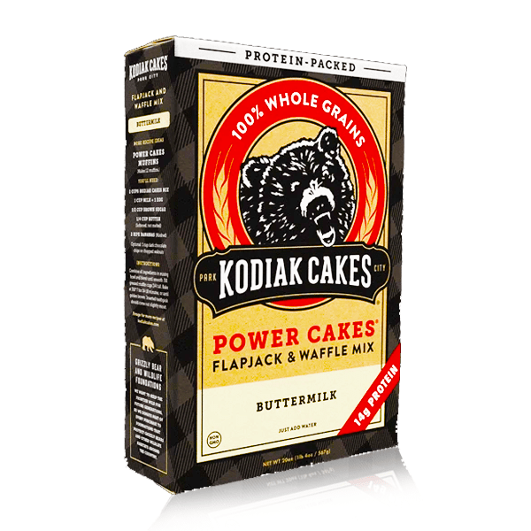 KODIAK CAKES POWER CAKES FLAPJACK WAFFLE MIX BUTTERMILK 567G